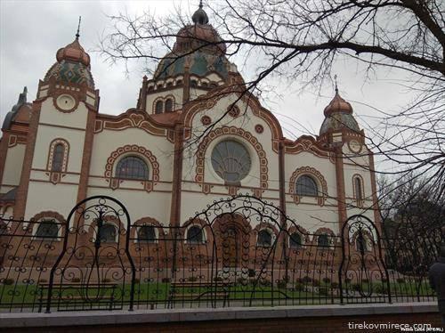 повторно, по многу години реставрација е отворена синагогата во Суботица со финансиска помош од Унгарија