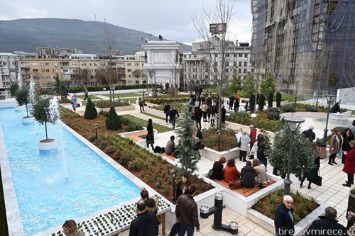 зелениот покрив на ГТЦ во Скопје