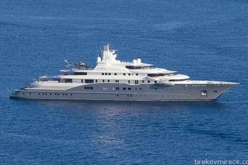 јахтата на арапски милијардер радиант вредна 300 милиони долари вплови во Дубровник