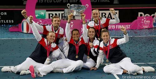 Франција по трет пат е победник во Фед Купот откако во финалето беше поуспешна од Австралија