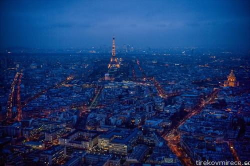 зимска квечерина  во Париз