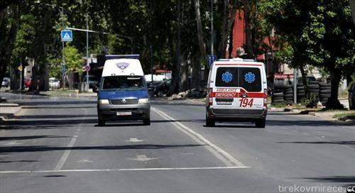 во време на полициски час, во Скопје
