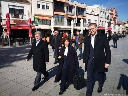 Силјановска со Иванов и Мицкоски - Професорски, претседателски во Охрид,