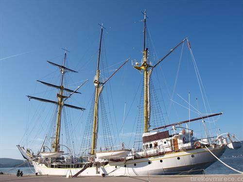 школскиот бродот Галеб конечно поделен, помеѓу Хрватска и Црна Гора