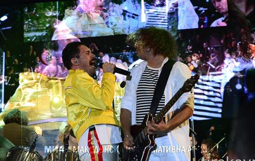 квин во Скопје, концерт посветен на светските рок легенди