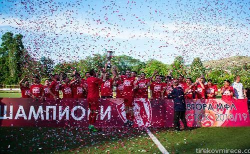 фк Борец е шампион во Втора лига Исток