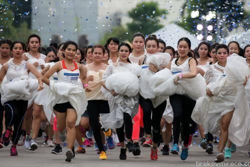 трка на невести во Банког Тајланд