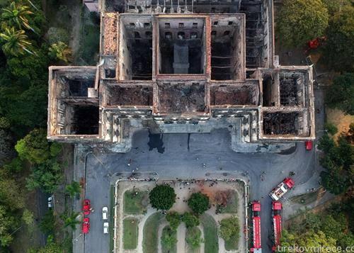 изгорениот музек на Бразил
