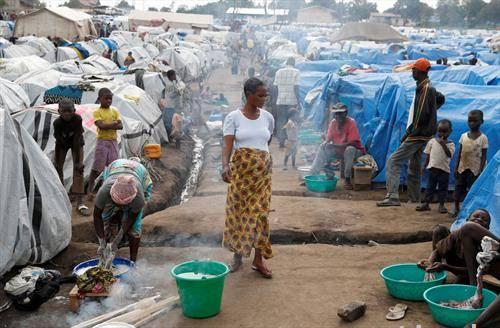 камп за раселени во Конго
