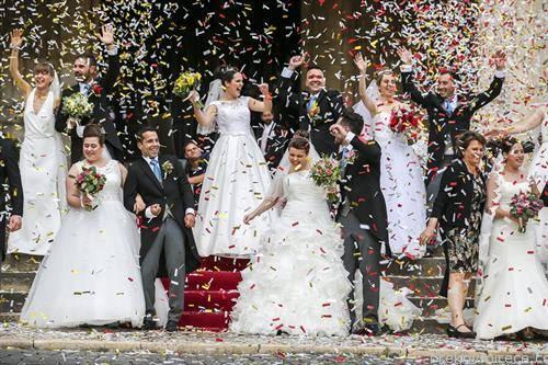 заедничка граѓанска венчавка во Лисабон Поругалија
