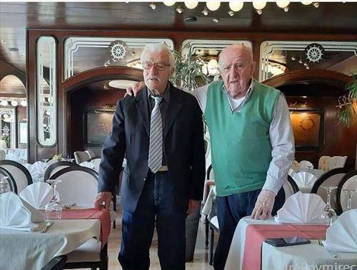 Двајца сплиќани, Тони Вершиќ (92год) и Жељко Реља  (93), се двајцата од петмината живи  матуранти на сплитската  машка Гимназија кои дојдоа да прослават 71 година од матурата