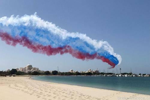 вежба на руската авијација во Абу Даби