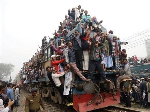 сите на воз, Дака Бангладеж