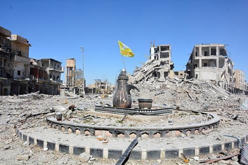Кружниот тек Ал-Маин по ослободувањето на градот Рака, Сирија
