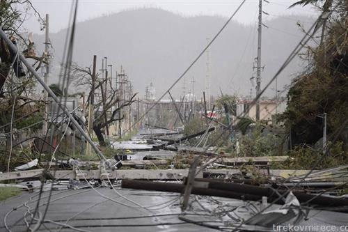 пат кон никаде по невремето во Хаити