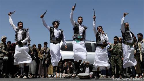 традиционален танц во Сана, Јемен