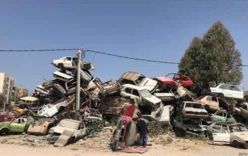 отпад за стари коли во Ерусалим