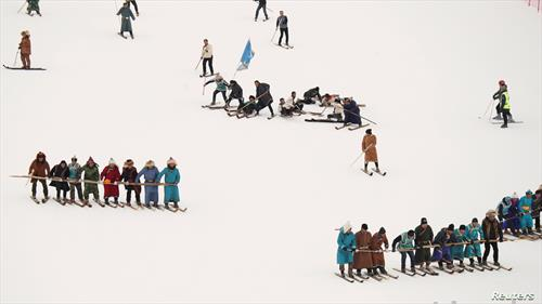 заеднички скијање, ски дисциплина во Кина
