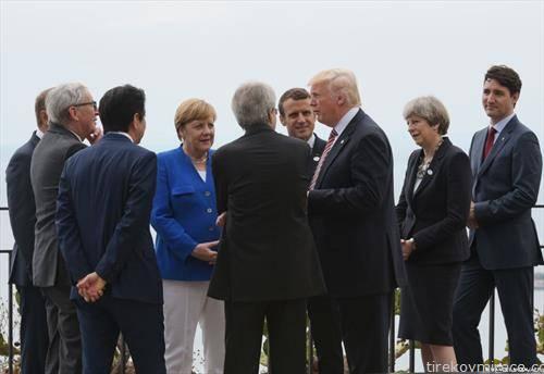 премиерите на седумте најразвиениземји со весаот го прекројуваат светоп