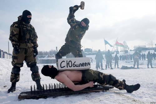 тренинг обука на спеијалните воени сиоли на Белорусија