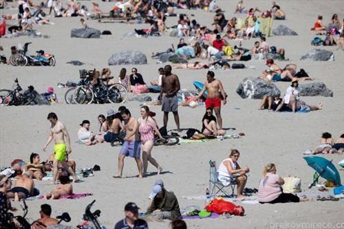 плажата во Даблин отворенааи  и