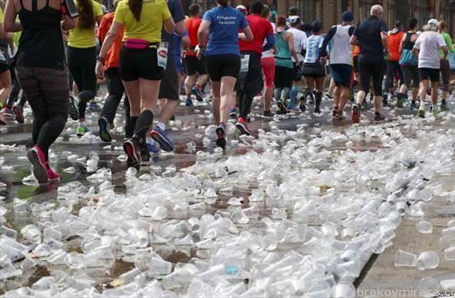 учесници на маратонот во Виена