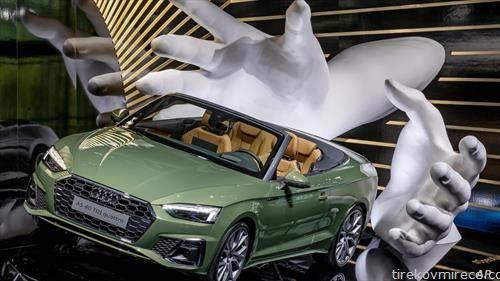 Audi A5 4.0 TDI кватро на саемот на автомобили во франкурт