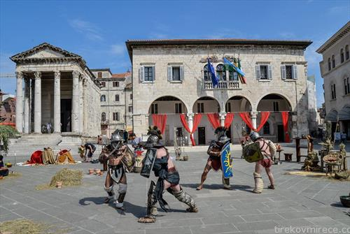 во Пула антички игри