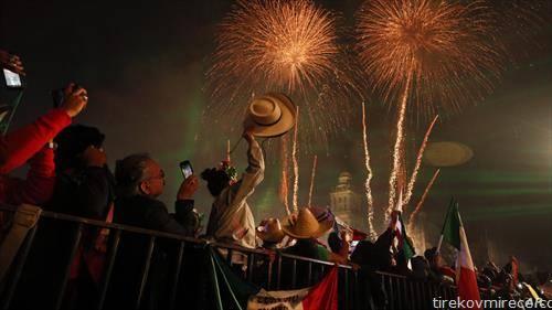 се слави денот на независноста на Мексико