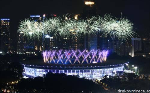 се отвораат Азиските спортски игри во Џакарта