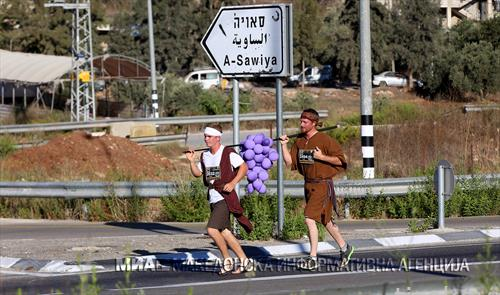 грозје по улиците на Палестина