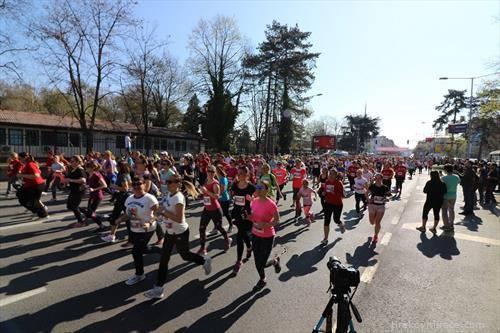 женска трка во Скопје