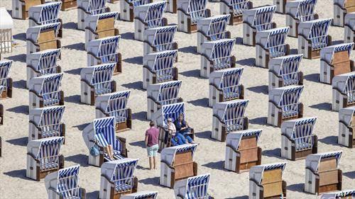 Германци на плажа на Балтикот