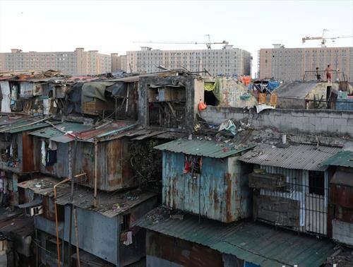 леле разлика драстична напред бараки назад станови, Манила