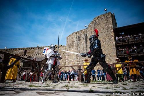 средновековни борби во смедерево, Србија