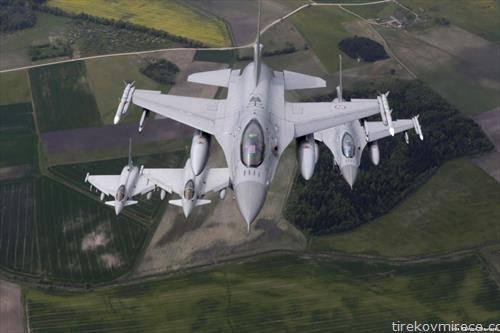 Војската на Естонија трага по остатоците на ракетата која шпански борбен авион по грешка ја истрелал во текот на вежбата во таа балтичка држава, членка на НАТО.