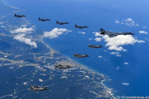 САД  и Јужна Кореја со заеднички воени вежби