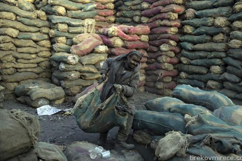 продажба на јаглен за греење во Авганистан
