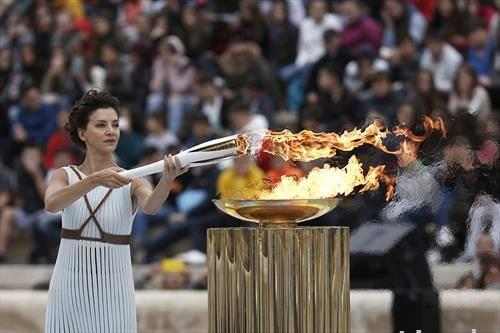 запален олимпискиот оган