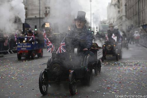 новогодишна парада во Лондон