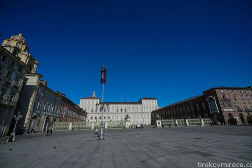 центарто на Торино по епидемијата на корона