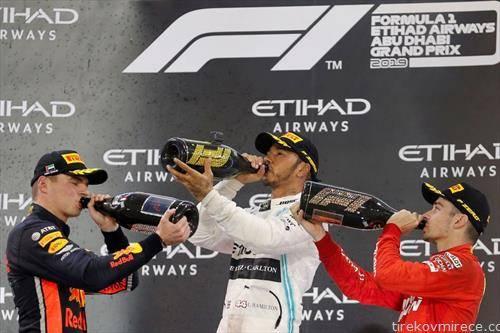 луис хамилтон ја слави титулата во Ф1