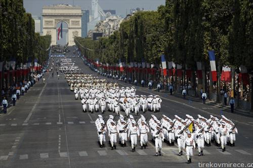 Франција го добележа 14 јули  Денот  на независноста