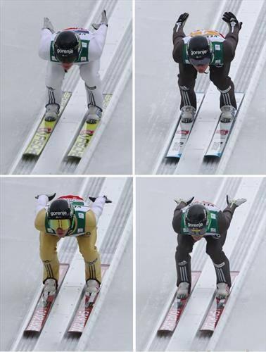 словенците освоија сребро во екипните ски летови  на СП во Оберсдорф победија норвежаните