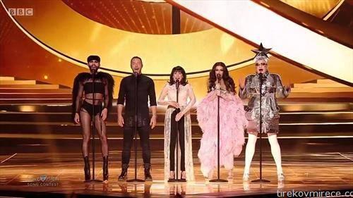 поранешни победници на Евровизија