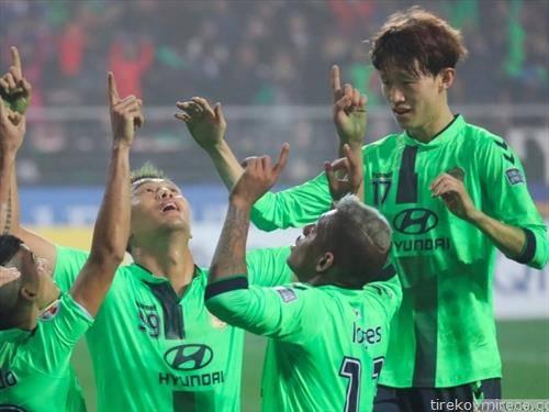 корејскиот Јеонбук победник на азиската лига на прваци