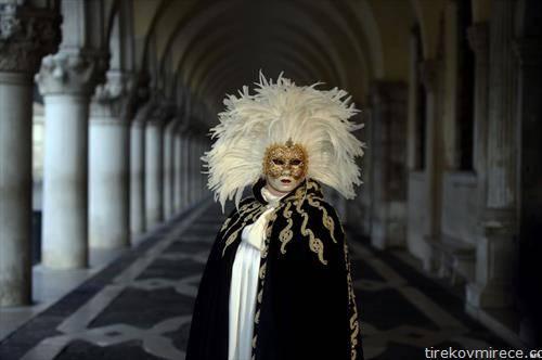 најава за карневалот во Венеција
