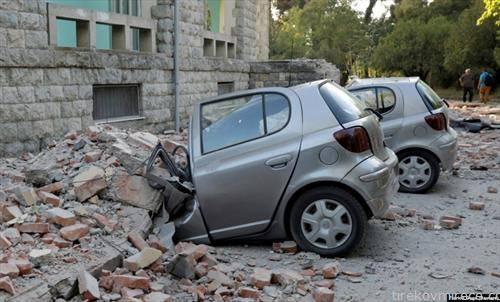Тајланд  земјотрес во соседна Албанија