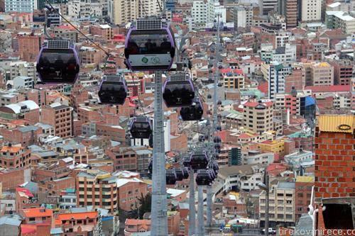 прошетка по Ла Паз, главниот град ан Боливија
