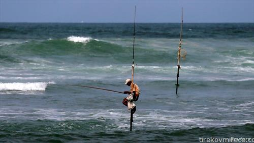 рибарење во Шри Ланка
